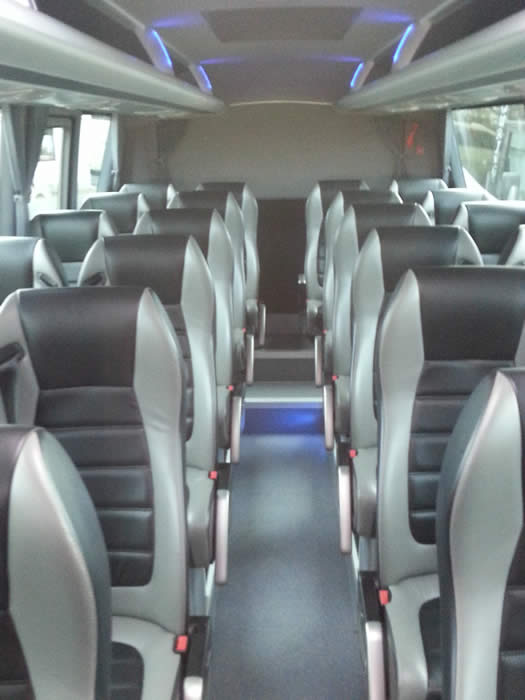 Mercedes Riada Executive 28 + 1 seats interior